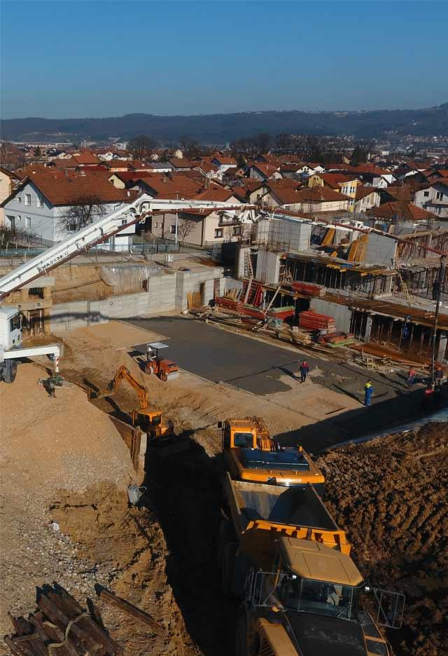 Napredak radova - februar 2021.
