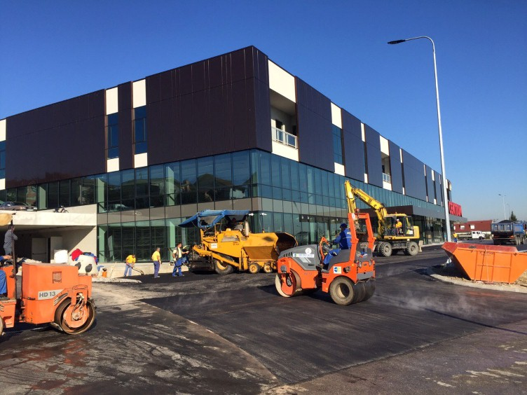 SC Centrum – works completed